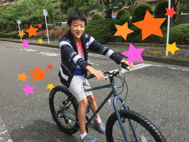 自転車の 自転車 試乗 あさひ : すっかりお気に入りのご様子で ...