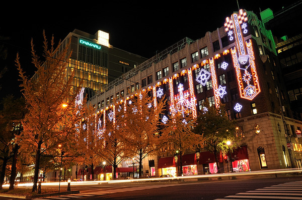 christmas illumination(shinsaibashi)