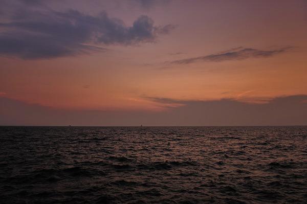 海のざわめき