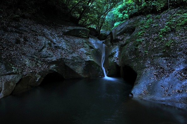 竜鎮の滝2