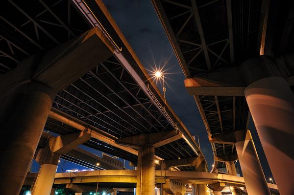 阪神高速4号湾岸線(大浜)