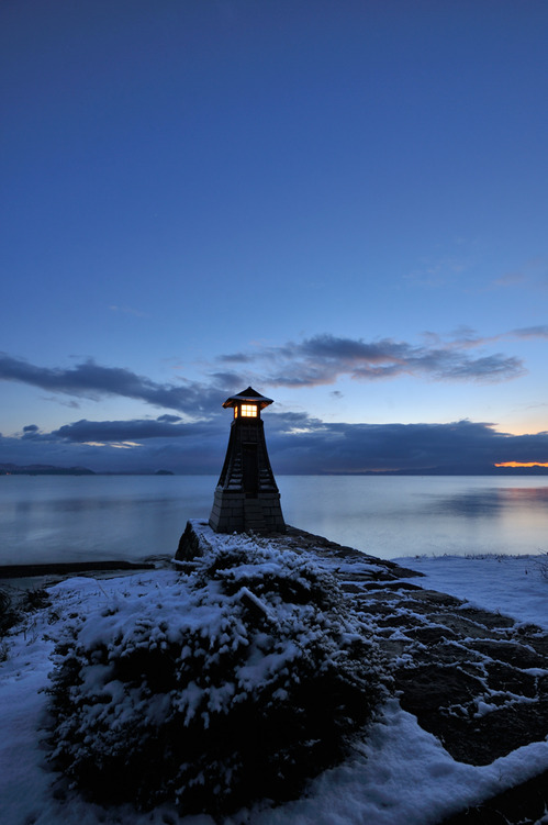 木津浜の灯台