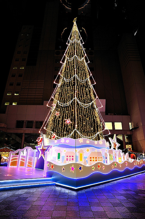 christmas illumination(新梅田シティ2)