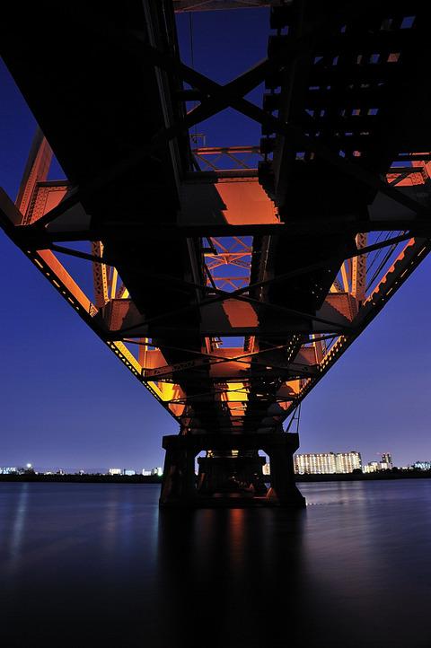 赤川仮橋3