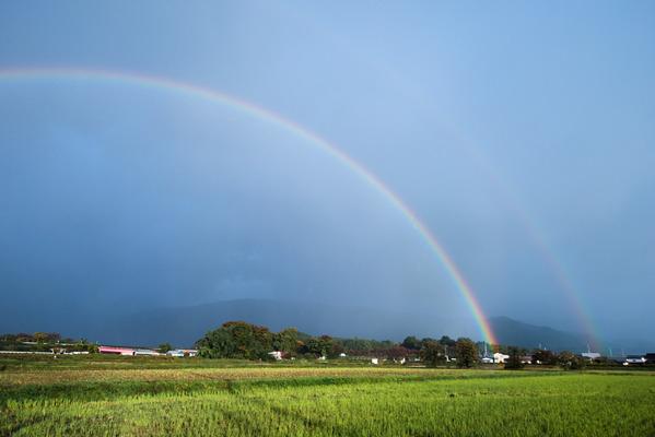 時雨のち虹