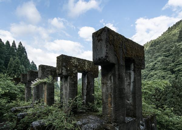 土倉鉱山跡 2