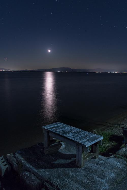 月夜の静けさ