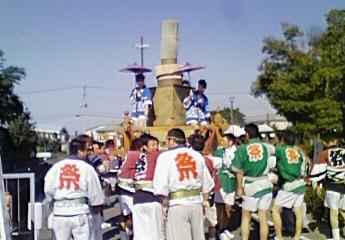 イグサ神輿