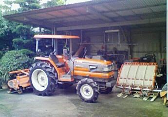 農機具避難