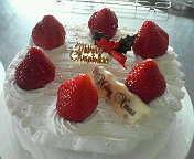 楠本さんケーキ