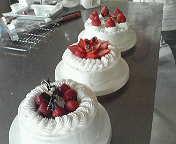 ヨコ3列ケーキ