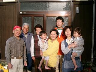 ゼブラさんと家族