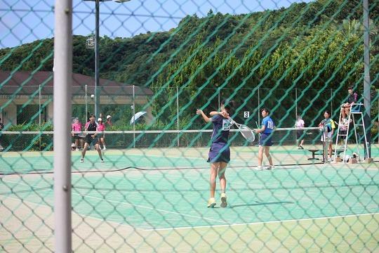 総体予選(女子ソフトテニス)