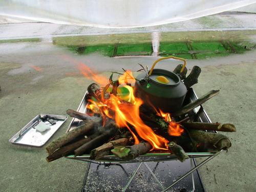ブッシュクラフト体験第1回目 焚火のやり方 (29)