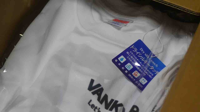 ヴァンキードライTシャツ