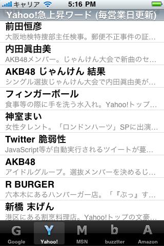 Checktrend スクリーンショット 02