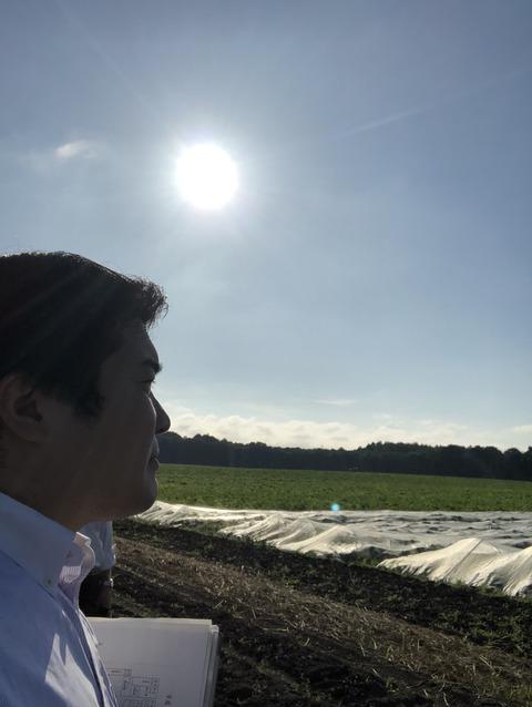 180802種苗管理センター北海道中央農場 胆振農場視察03