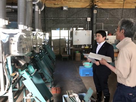 180802種苗管理センター北海道中央農場 胆振農場視察01