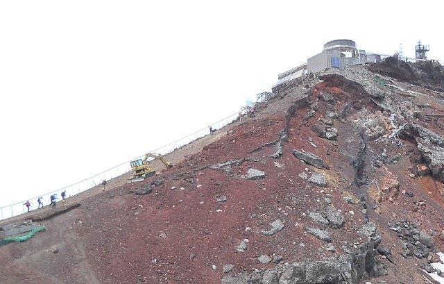 自転車の 自転車 富士山山頂 : 今は自転車 : 富士山登りました ...