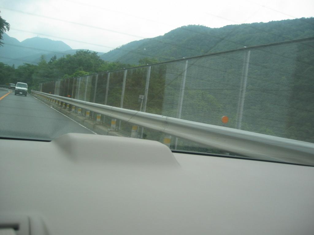 箱根の山をあとにして