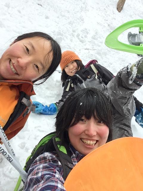 雪遊び日和!!