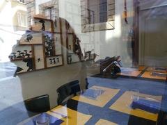 フィレンツェレストランの窓