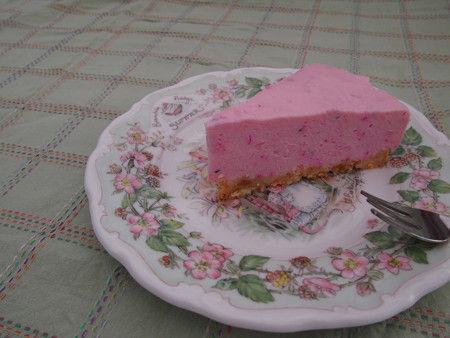 ドラゴンフルーツチーズケーキ