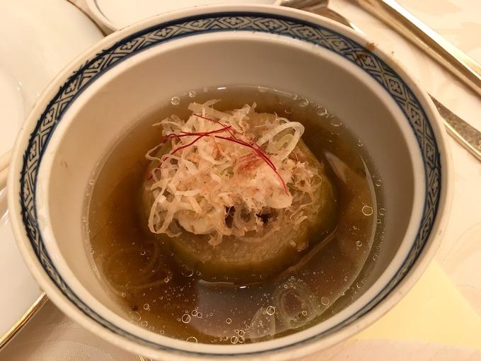 椿山荘 茄子の鴫炊き