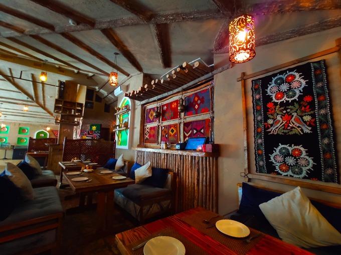 かわいすぎるインテリア ウズベキスタンのレストラン