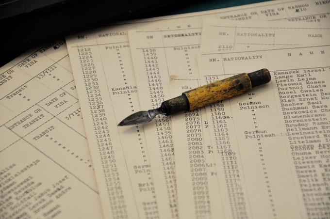 杉原千畝の万年筆