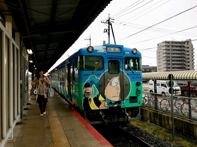 鬼太郎電車 島根県
