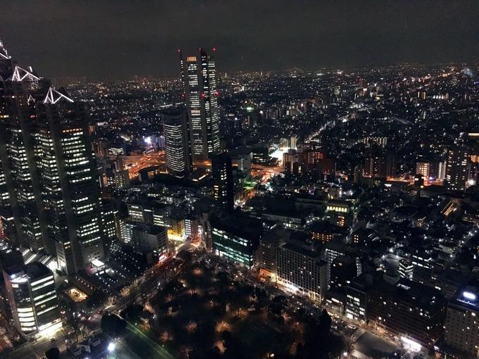 都庁 夜景