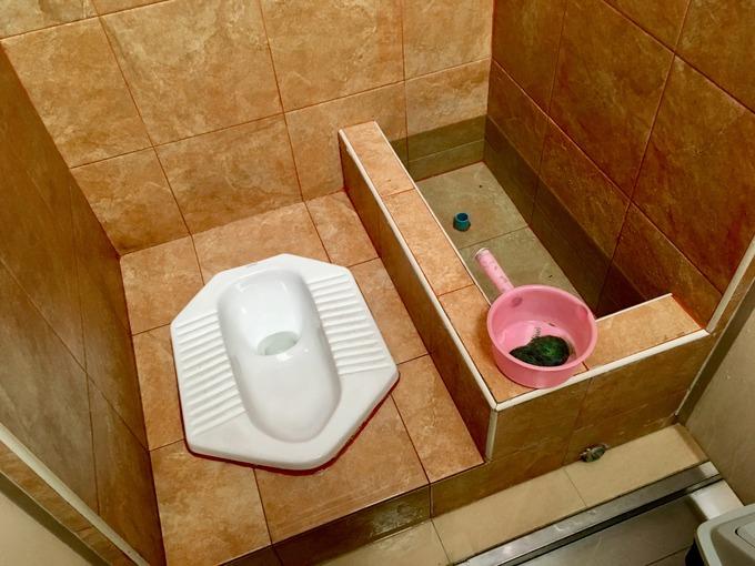 タイの和式トイレ