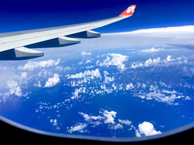 飛行機からの空 景色