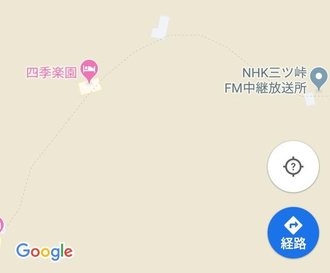 三つ峠 googlemap