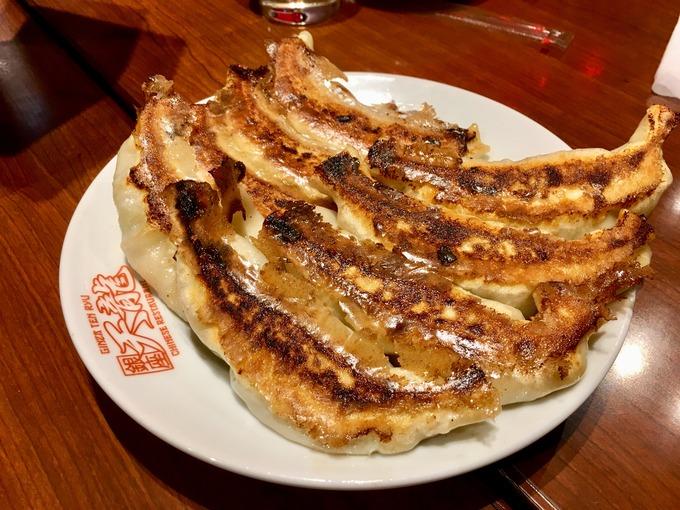 天龍 銀座 ジャンボ餃子