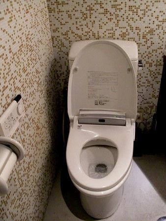 日本の洋式トイレ