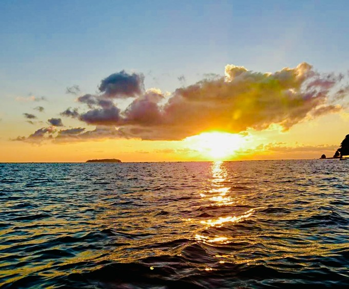 朝焼け 熱海