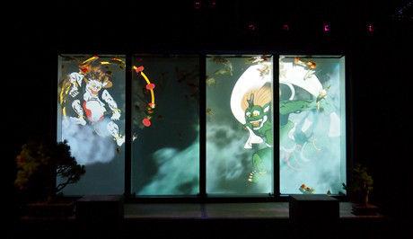 アートアクアリウム 屏風