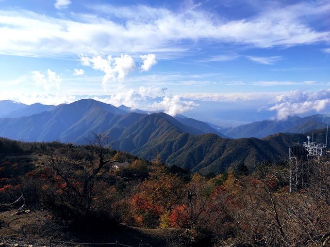 三つ峠山頂