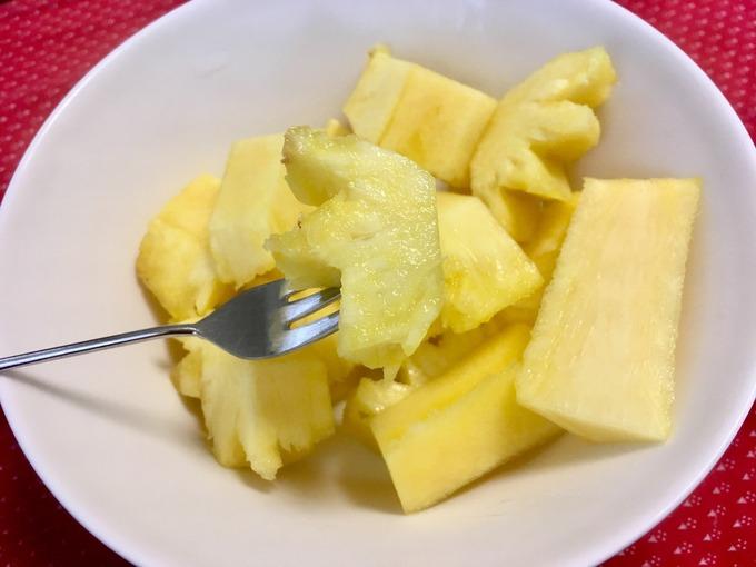 パイナップル 再生栽培