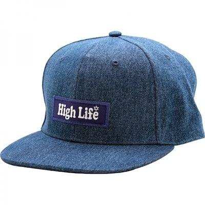 HighLifeBoxLogoDenimSnapbackCap6-min