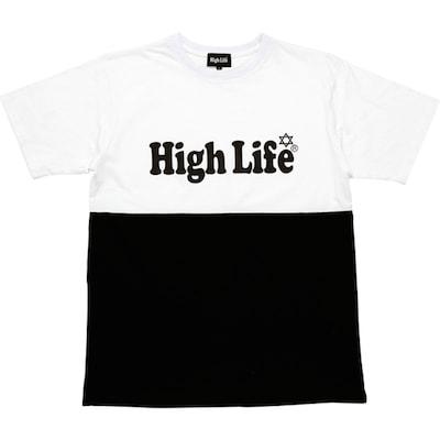 HighLifeLogoBiColorTee65-min