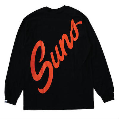 ANDSUNS_WEEKLYSUNS_Tシャツ2in