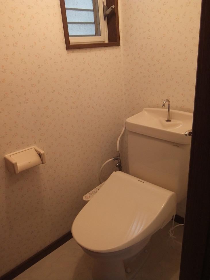 上鶴間本町貸家 1階トイレ