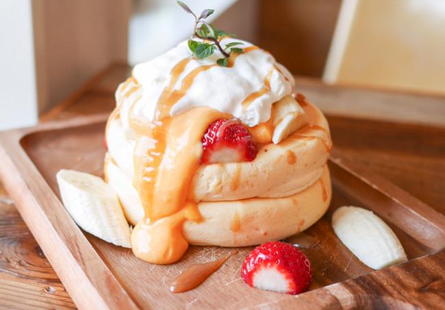 【埼玉 伊奈 羽貫】 プランピーパンケーキス plumpy pancakes バナナ ...