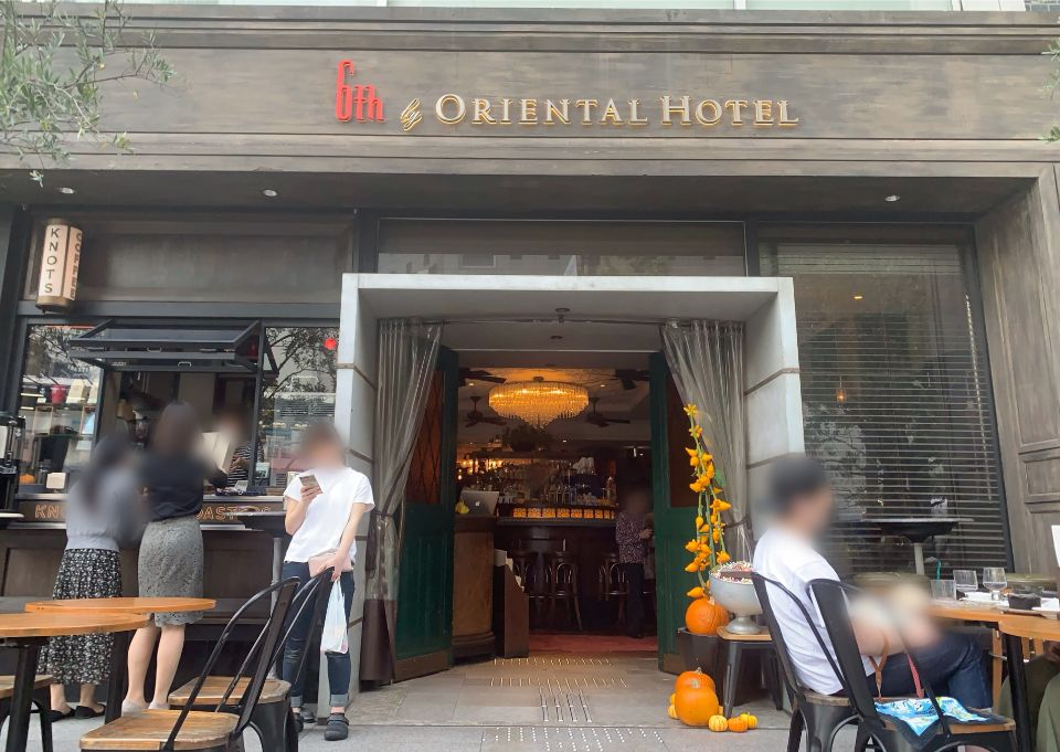 Oriental hotel by 6th