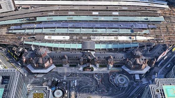 2017_0413_新撮東京駅のエスカレーター動画2017年版01
