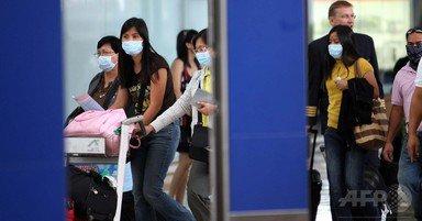 香港でインフル猛威