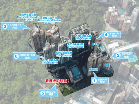 タイガーバー現在マップ3Dビル